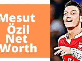 Mesut ozil net worth